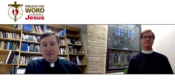Side by side profile shots of Rev. Adam Matheny and Rev. Timothy Mech