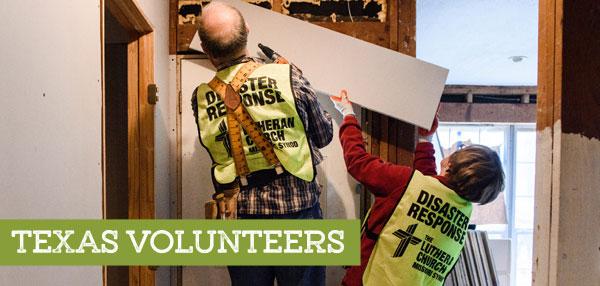 Disaster Response Volunteers Needed in Texas