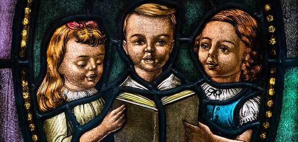 Kids in the Divine Service