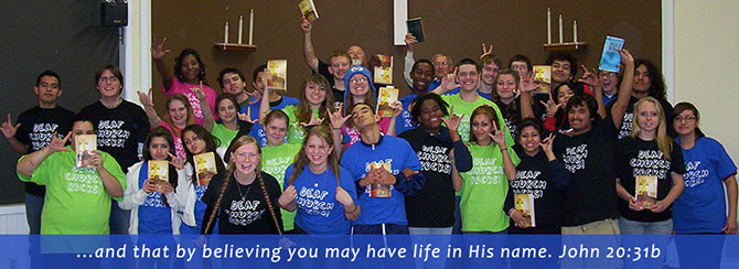 Youth Ministry Gathering Outreach Grants - The Lutheran