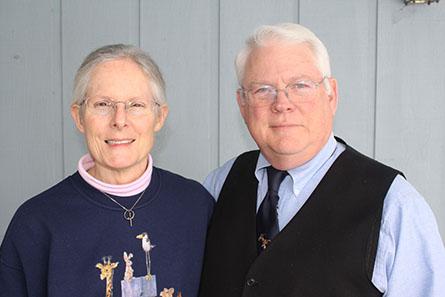 David and Barbara Bush