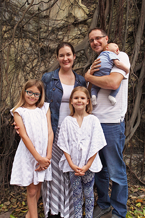 J.P. and Aimee Cima and their children