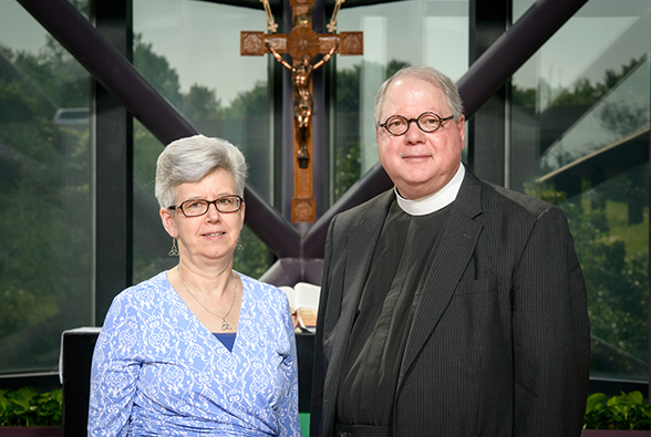 Rev. Dr. Charles and Connie Cortright