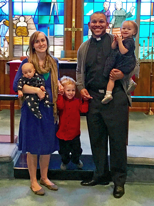Rev. Micah and Deac. Dorothy Glenn and their children