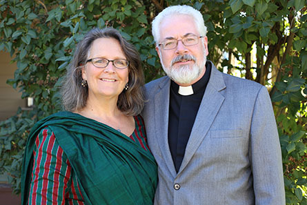 Rev. Roger and Amy James