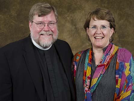 Rev. James and Peggy Krikava