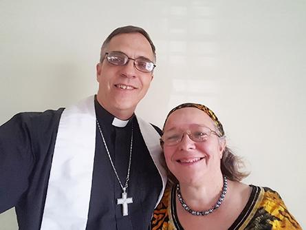 Rev. Mark and Susan (Sue) Moss