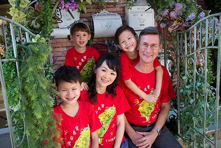 Rev. Stephen and Maggie Oliver and their children