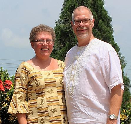Rev. Steven and Cynthia Schumacher