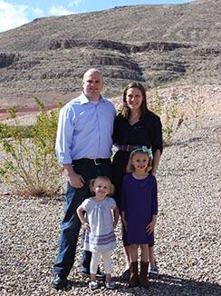 Blake and Elizabeth Warren and their children