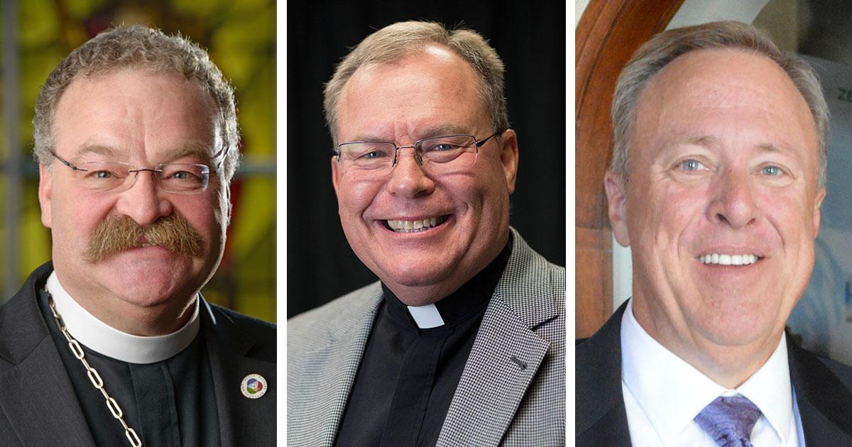 Presidential candidates: Matthew C. Harrison, David P. E. Maier, Timothy M. Klinkenberg