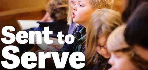 Free Sent to Serve themed resources are available for the 2021 National Lutheran Schools Week celebration.
