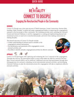 Congregational Outreach: Connect to Disciple