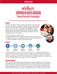 Strategic Planning: Serving in God's Mission
