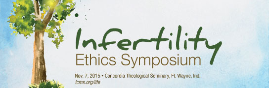 Join LCMS Life Ministry on Nov. 7 in Fort Wayne to discuss reproductive technologies, adoption and pastoral care for the barren.