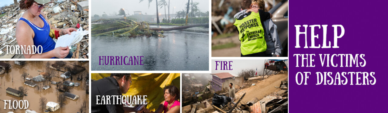 Help the victims of Disasters