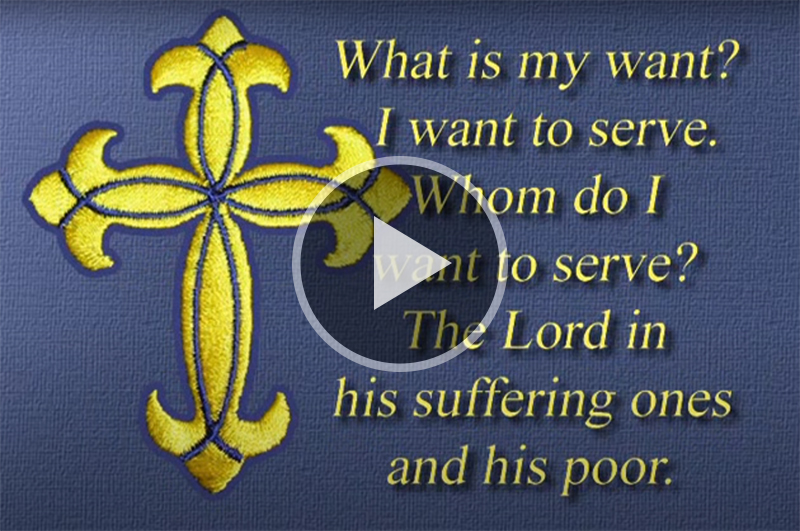 This video offers a glimpse of the vocation of service to which a Lutheran deaconess dedicates herself.