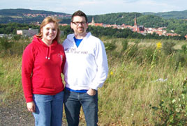 Andy and Jamie Koenig serve as GEO missionaries in Walbrzych, Poland.